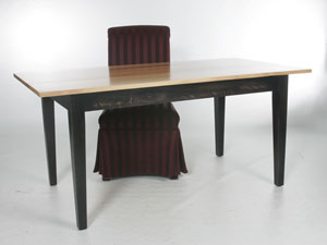 Contemporary Cypress Dining Table