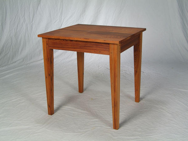 Antique Cypress Game Table