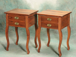 Creole Cypress Side Table