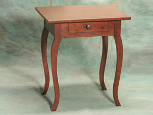Solid Cherry Creole Side Table