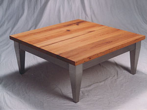 Contemporary Cypress Coffee Table